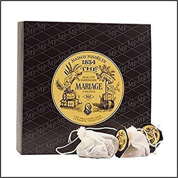 (Mariage Freres - EARL GREY IMPÉRIAL (TB8185) - 30 Muslin Tea Sachet/bags)