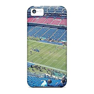 Fashion CVhOz5762fQaJA Case Cover For Iphone 5c(tennessee Titans Stadium Exercise Morning)
