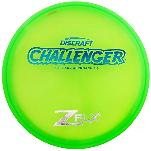 Discraft Z FLX Challenger Putt and Approach Golf Disc [Colors May Vary] - 173-174g