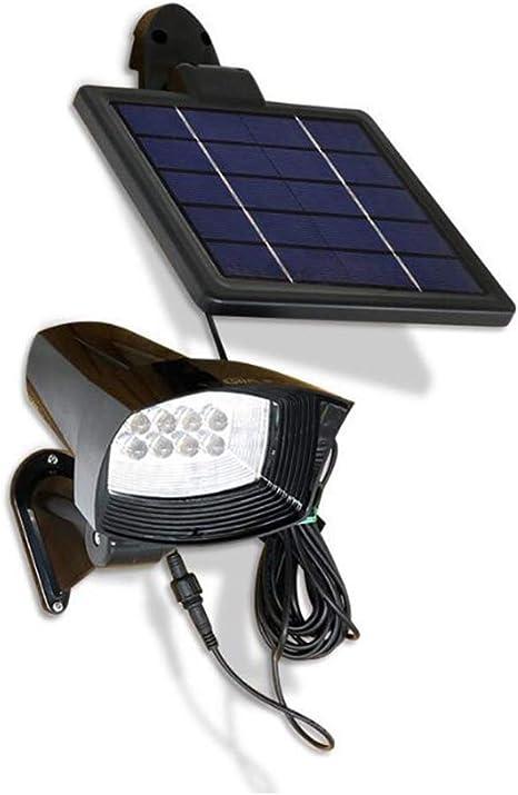3.5W Led Proyector Solar Con Estaca Para Césped, Led Foco Solar ...