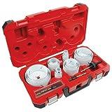 New Milwaukee 49-22-4185 28-Piece All Purpose Professional Hole Dozer Hole Saw Kit