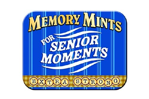 Mints For Senior Moments EXTRA STRONG (1 Tin box)