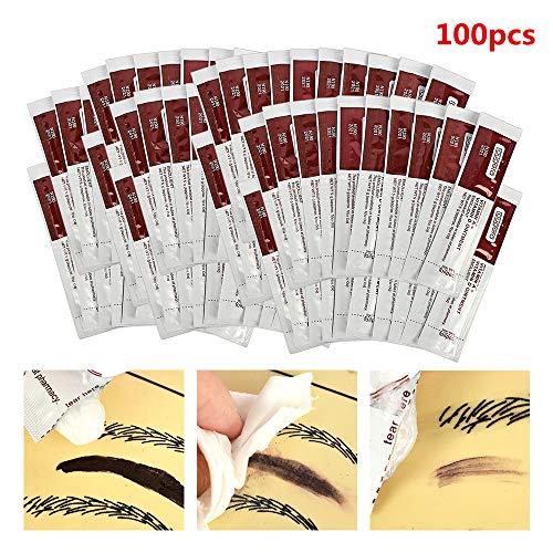 Guapa Scar Repair Gel 100Pcs/Bag Tattoo Recover Creams Vitamin Ointment A&D Anti Scar Tattoo Aftercare Cream for Body Art Tattoo Permanent Makeup (100pcs)