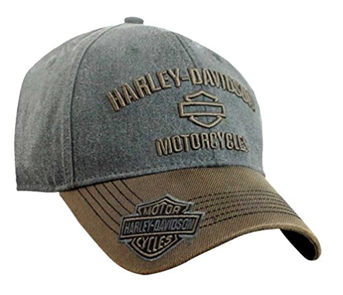 harley-davidson-mens-h-d-motorcycles-logo-baseball-cap-gray-brown-bcc51639