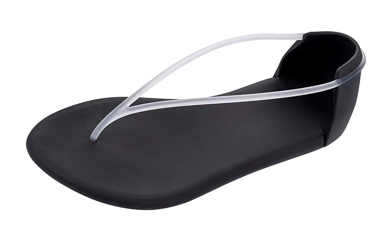 Sandals Black and White Ipanema With Starck Thing G Womens Flip Flops