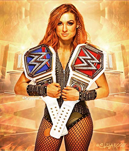 United Mart Poster WWE Becky Lynch Cover Poster Size 12 x 18 Inch Rolled Poster from United Mart Poster