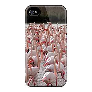 GWHHBQW5159QAbrw RachelMHudson Pink Famingoes Feeling Iphone 4/4s On Your Style Birthday Gift Cover Case