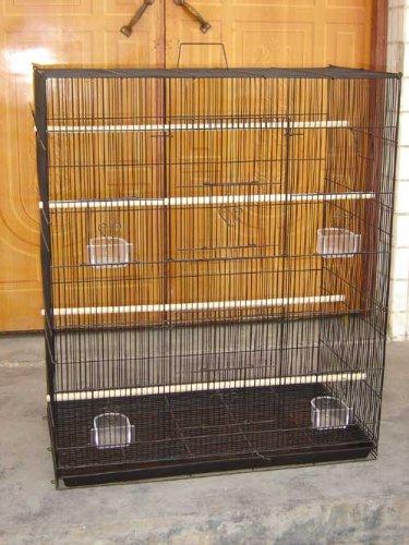 New Large Bird Cage cockatiel sugar glider finch parakeet 30'Wide x 18'Deep x 36'Tall *Black* Mcage