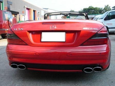 Mercedes AMG Exhaust Crossover X-Pipe X Pipe SL55 63 CLK63 E55 SLK55 CL555 CL55