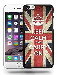 United Kingdom England Keep Calm and Carry On Pride Flag Retro Vintage Style Phone Case Cover Designs for iPhone 6