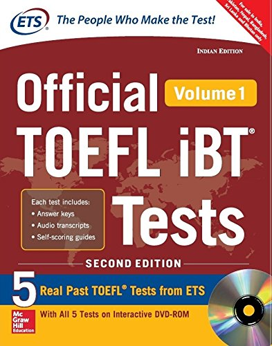 Official TOEFL ibT – Vol. 1 (With DVD)