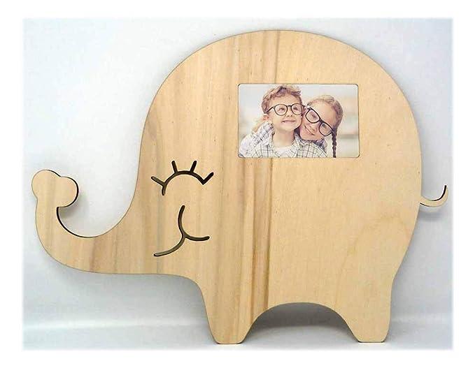 Elefante Real Madera imágenes de marco para puerta de cartel ...