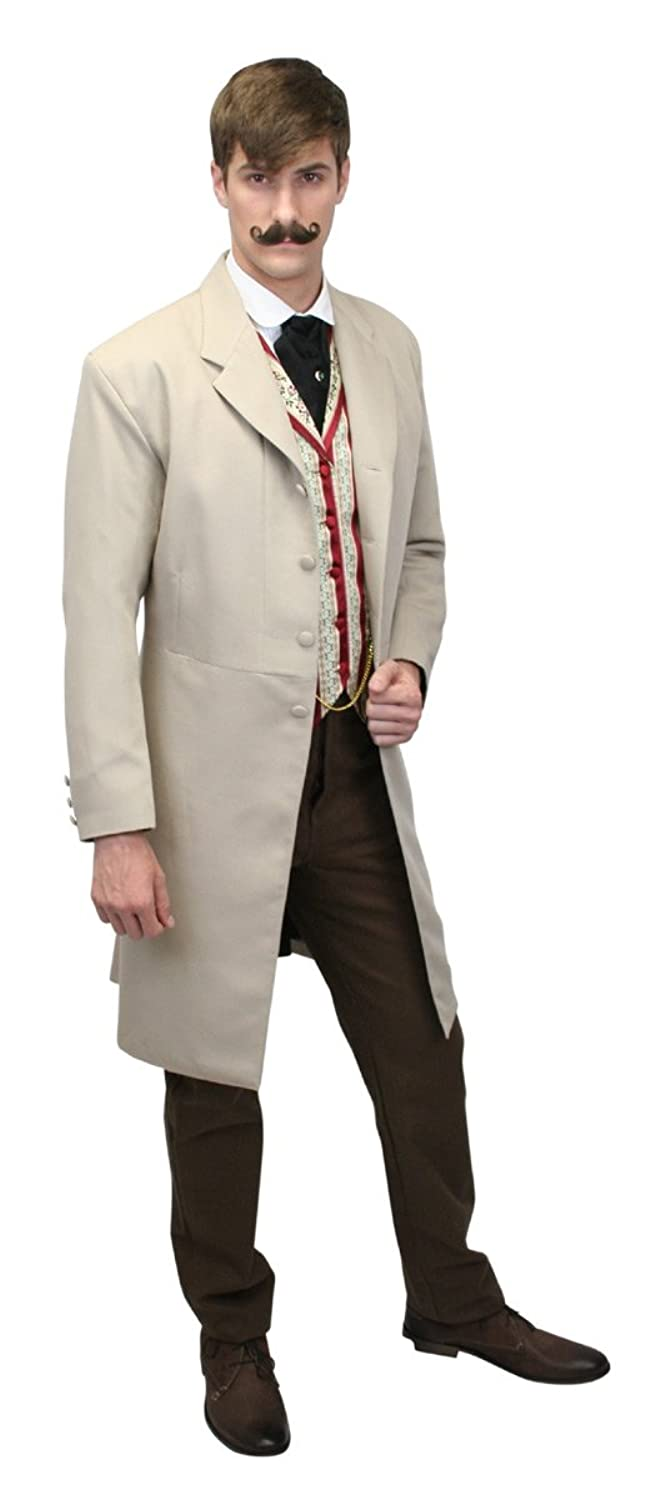 Victorian Mens Suits & Coats Callahan Frock Coat $159.95 AT vintagedancer.com