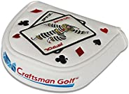 CRAFTSMAN GOLF Joker Playing Card Mallet Putter Cover Headcover for Scotty Cameron Odyssey
