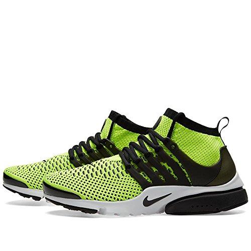 Nike Air Presto Flyknit Ultra, Chaussures de Running Entrainement Homme, Bleu, 42 EU Noir