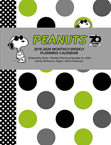 Pdf Comics Peanuts 2019-2020 Monthly/Weekly Planning Calendar