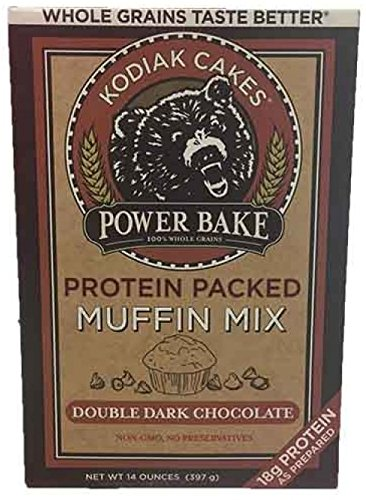Kodiak Cakes Power Bake, Non GMO, Protein Packed Muffin Mix, Blueberry Lemon, 14 Ounce - No Preservatives