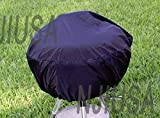 BBQ Grill Cover Fits Weber Smokey Joe Silver Serving Indoor Outdoor Round 14'-15'
