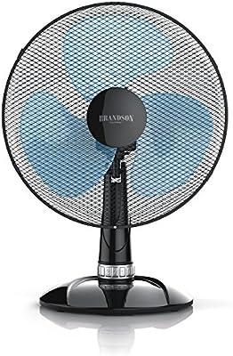Ventilador de mesa 35 cm | 40 W Turbo Fan | función oscilación 85 ...