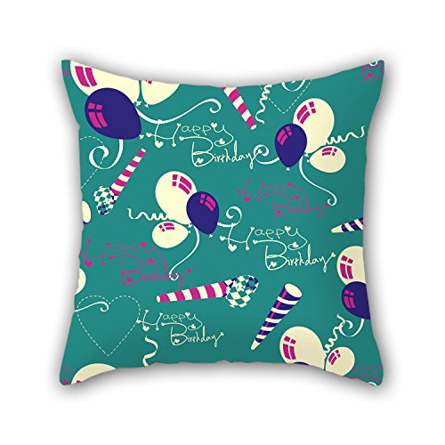 NICEPLW Pillow Covers Of Happy Birthday 20 X