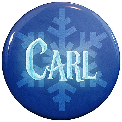 Buttonsmith® Carl Winter Ice Name Tag (Carl Costume)