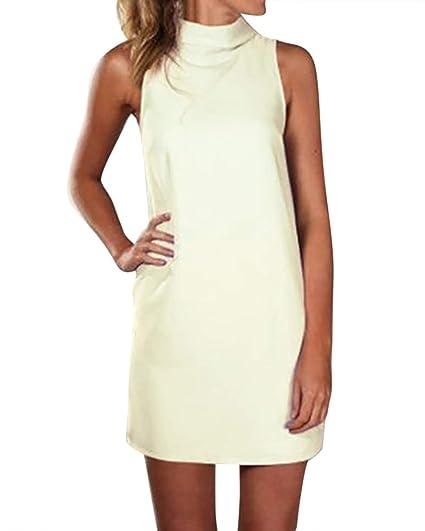 Damen Chiffon Kleid Bluse Longshirt Minkleid Partykleid langarm 36 38 40 42 44