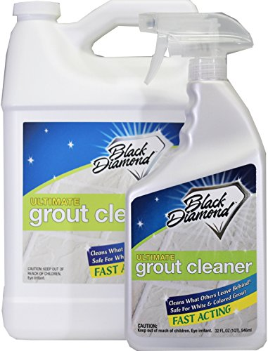 Ultimate Grout Cleaner: Best Grout Cleaner for Tile and Grout Cleaning, Acid-Free Safe Deep Cleaner & Stain Remover for Even The Dirtiest Grout, Best Way to Clean Grout in Marble. (Quart-Gallon) (Best Way To Clean Marble Tile)