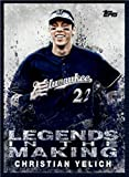 2018 Topps Legends in the Making #LITM-14 Christian Yelich Milwaukee Brewers Baseball Card