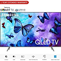 Samsung QN55Q6FN 55-Class QLED Smart 4K UHD TV (2018 Model) – (Certified Refurbished) with 1 Year Extended Warranty