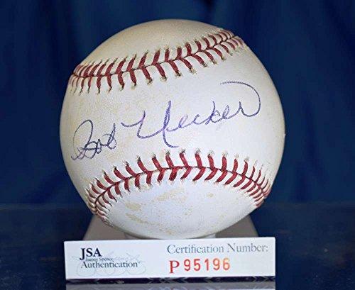 BOB UECKER JSA HAND SIGNED MAJOR LEAGUE AUTOGRAPH BASEBALL AUTHENTIC Bob Uecker Baseball