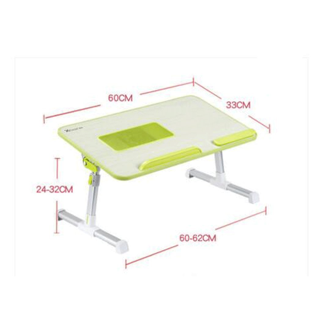 GAOLILI ラップトップテーブルは、テーブルでテーブルを折りたたむ単純な学習デスクデスクレイジードミトリー学生学習テーブル小さなテーブル簡単なベッドテーブルデスクトップを大きくする大きなスペース回転デスクトップ (色 : グレー) B07DNT1LX7 グレー グレー