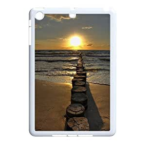 Custom AXL369187 Case, Personalized Phone Case For Ipad Mini Cover Case w/ Sunset by the ocean