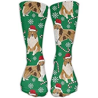 Amazon.com: Rough Collie Christmas Holiday Fashion Warm