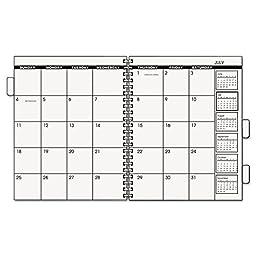 Ataglance 7092378 Monthly Planner Refill, 9 x 11, 2018