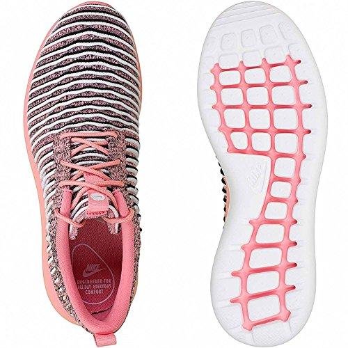 Blancs Nike Roshe Flyknit 801 Noir De De Melon Femmes Brillant W Course Chaussures Deux pqIxTTS