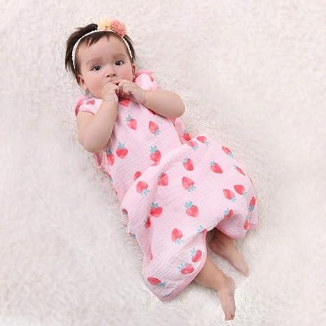 Bebé Saco De Dormir,cochecito de bebé Niños Saco de dormir Kid chaleco del bebé del sueño del saco de pañales para capullo Manta recién nacido, sin mangas, L: Amazon.es: Bebé