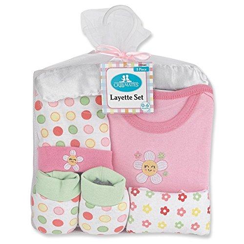 Regent Baby Crib Mates Gift Set CM3540, Blue/Pink - Regent Gift