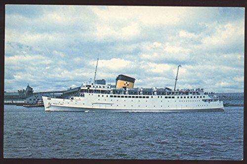 Princess Acadia Car Ferry Saint John Brunswick Digby Nova Scotia Ship Postcard