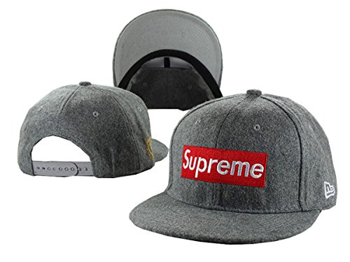 Aidan Ellazar supreme Cap Men & Women's Baseball Snapback Hats Grey 1 One Size