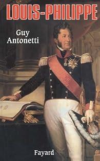 Louis Philippe par Guy Antonetti