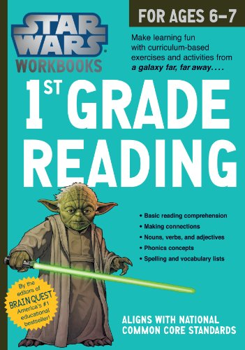 Star Wars Workbook: 1st Grade Reading (Star Wars