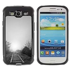 Suave TPU GEL Carcasa Funda Silicona Blando Estuche Caso de protección (para) Samsung Galaxy S3 III I9300 / CECELL Phone case / / Nature Beautiful Forrest Green 119 /