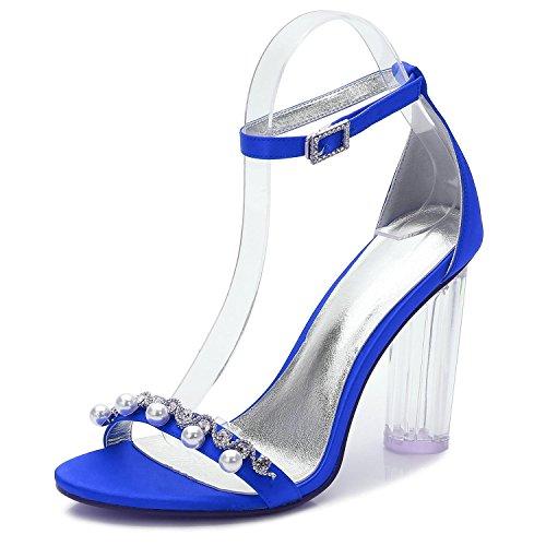 Corte TacóN Cristal Diamante La Plataforma De Y2615 La De Boda Blue De La De De Alto con La Perlas De 13 Zapatos Mujer Zapatos áSpera Artificiales Boda zIn7SHqqx