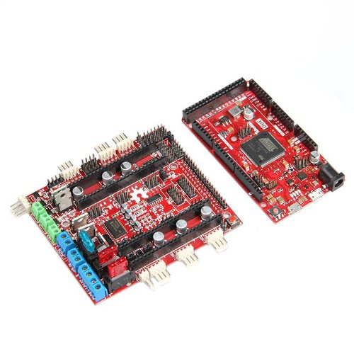 Geeetech AT91SAM3X8E ARM 32-bit Microcontroller DUE Board + 3D printer RepRap RAMPS-FD shield for DUE
