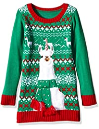 Girls Ugly Christmas Sweater Tunic