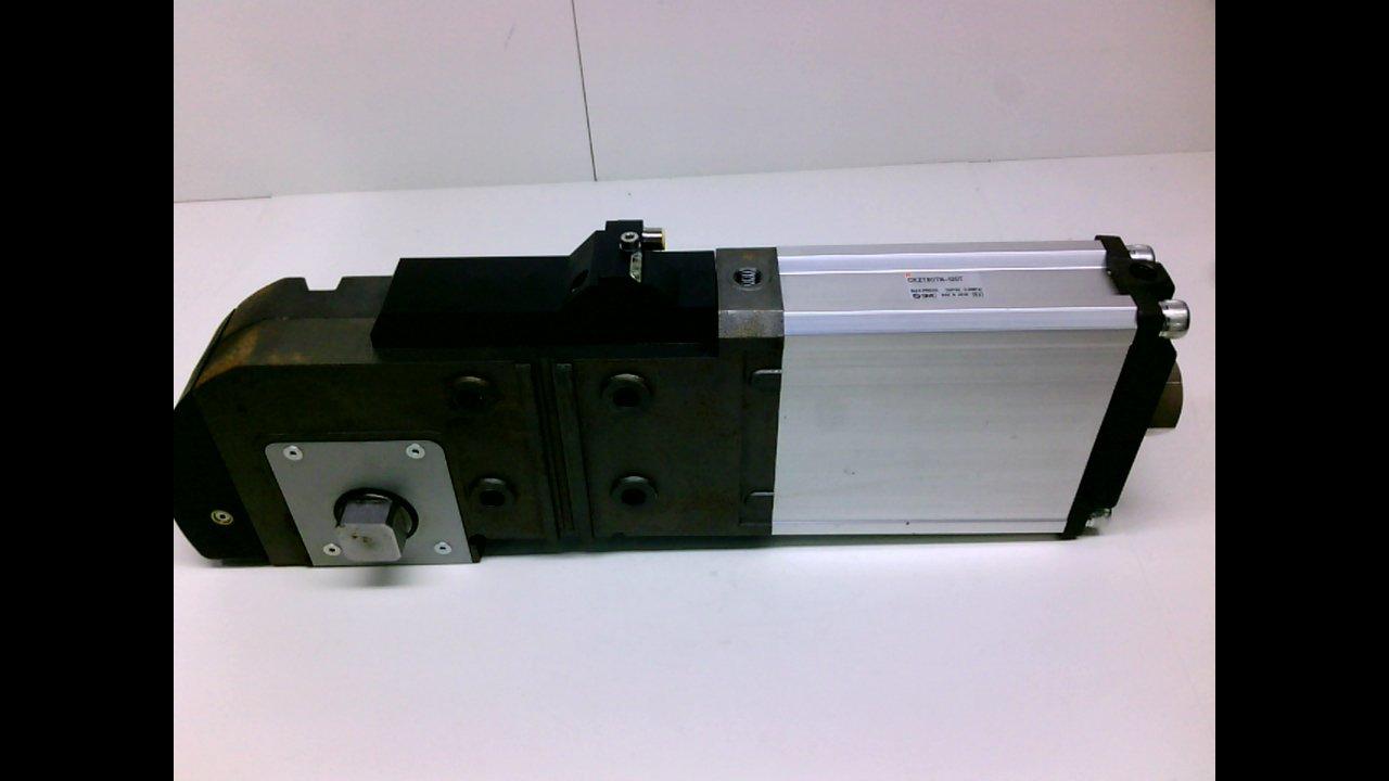 Ckzt80tn-120T Max Pressure: 115Psi Smc Ckzt80tn-120T Slim-Line Power Clamp 0.8Mpa