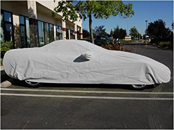 Heavy Duty Breathable Waterproof 4 Layers Car Cover for Nissan GT-R