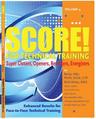 SCORE for Technical Training, volume 4