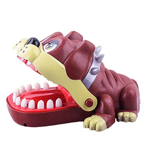 Lightclub Children Kids Shar Pei Dog Mouth Dentist Bite Finger Game Funny Toy size Shar Pei