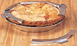 Terrell Adjustable Pie Crust Protector Shield, Made in America, Fits Up To 10-Inch Pies